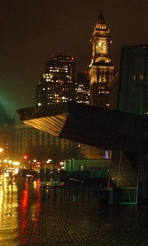 Rainy Night, City Lights